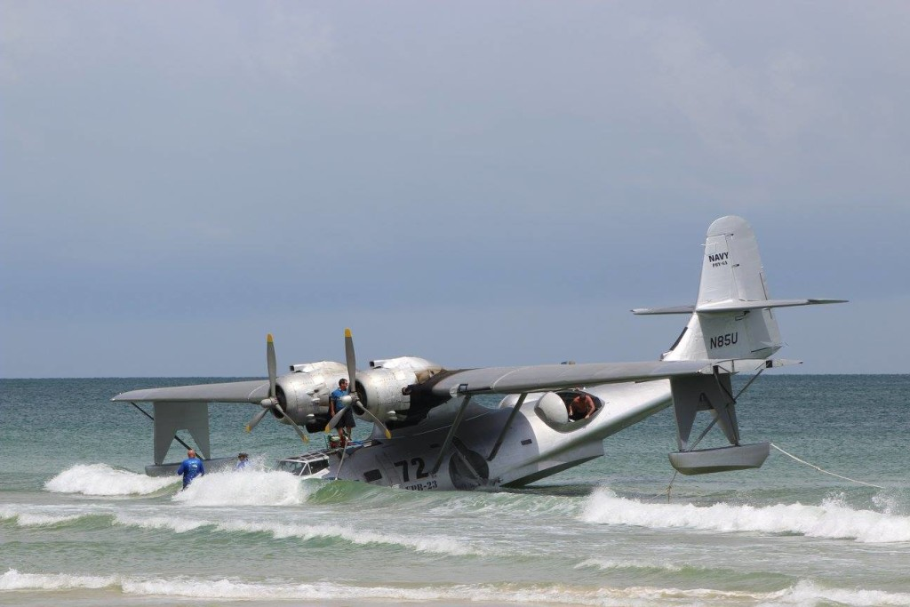Beached PBY at Florabama (c) Sherry Fundin