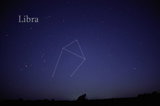 the scales constellation libra