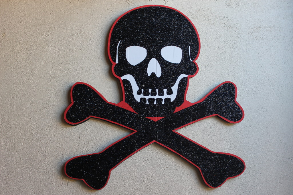 Skull and Crossbones (c) Sherry J Fundin