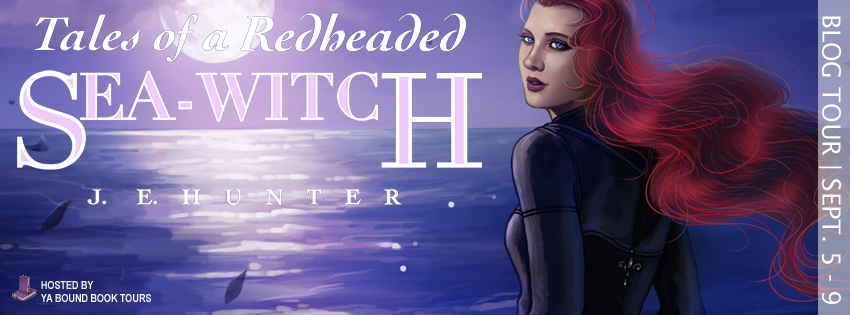Tales of a Redheaded Sea-Witch tour banner